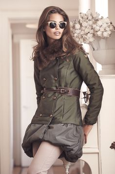 SPORTY CHIC REVISITED PARKA