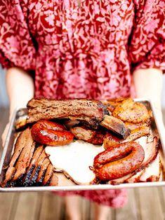 Black's BBQ in Austin Texas Texas Brisket, Texas Bbq, Austin Texas, Barbecue Restaurant, Bbq Restaurants, Barbecue Sides, Pecan Cobbler, Beef Cheeks