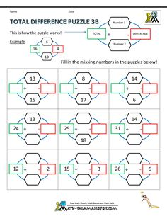 18 best third grade math puzzles images in 2014 math puzzles brain teasers maths puzzles math. Black Bedroom Furniture Sets. Home Design Ideas