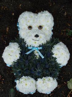 2D teddy bear arrangement