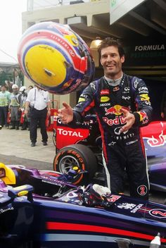 MARK WEBBER - RED BULL