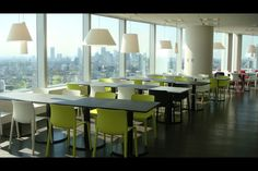 Google Japan office - Lunch space 2