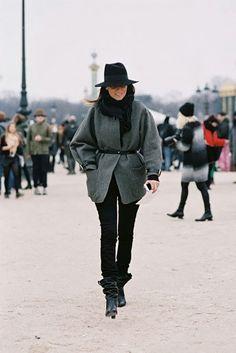Street Style via @WhoWhatWear