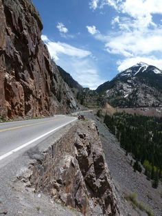 "Million dollar highway . Colorado (one of the most beautiful drives you can take)  (""1,000 Places to See Before You Die/ A Traveler's Life List"" by Patricia Schultz)"