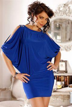 424e423a401 Femme Bleu Taille 36 Achat En Ligne Robes Courtes Femme Sur Modatoi ...