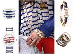 """Салон имидж-стиля от Аннет """"IskroFFski"""".  Морской стиль и вечная классика бело-синей полоски./  Marine style and timeless classics of white and blue stripes."""