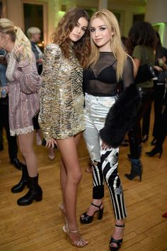 MARC JACOBS BEAUTY PEYTON LIST | PEYTON ROI LIST at Marc Jacobs Beauty Celebrates Kaia Gerber 02/15 ...