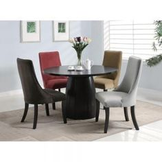 Pinning for the chairs. You will receive 8 dining chairs.With a self-assured elegance the A...