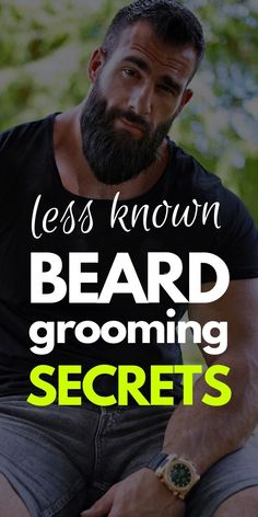 Beard Grooming Secrets : Revealed Now! – Men's Hairstyles and Beard Models Grow A Thicker Beard, Thick Beard, Beard Styles For Men, Hair And Beard Styles, Barba Sexy, Beard Tips, Beard Growth Tips, Hair Growth, Shaving Tips