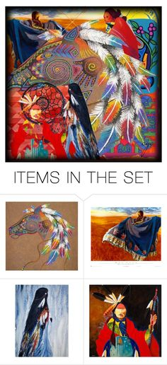 """""""In honor of the First People"""" by craftygeminicreation ❤ liked on Polyvore featuring art"""