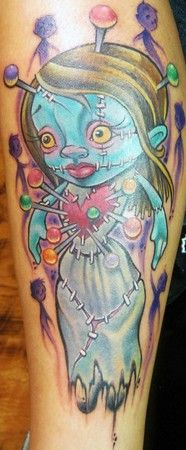 Pin Electric Voodoo Tattoo Shop Owner Dean Mitchell At Work On A on ...186 x 450 | 31.9KB | www.tattoopins.com