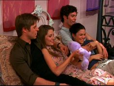 The OC Seth and Summer | Ryan, Marissa, Seth, and Summer The Fab Four