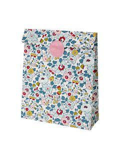Liberty Betsy print paper bags