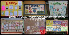 Completa recopilación de ideas para el periódico mural de ENERO.
