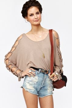 Knot It Top. $68.00. http://www.nastygal.com/clothes/knot-it-top