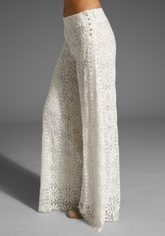 lace pants outfit - Google Search