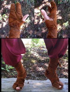 Troll Gloves + Shoes by ~Carancerth on deviantART