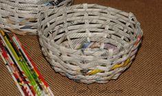 Paper Weaving - Bowl