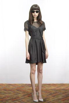 Alexandre Herchcovitch Resort 2012 Fashion Show - Vanessa Moreira