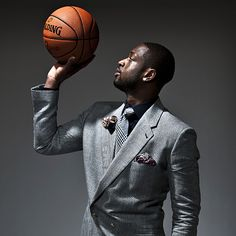 The good, the bad and the ugly -- take a look at some of the 2012 NBA All-Star casual portraits. Miami Heat Basketball, Love And Basketball, Basketball Players, Dwyane Wade, All Star, Basketball Senior Pictures, Senior Boy Photography, American Athletes, Nba Fashion