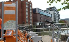 Hire a 'Boris Bike' -esque bike in Lincoln.  You can pick one up from rental stations at the Brayford Waterfront and Lincoln Central Train Station.