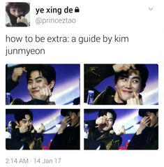 How To Be Extra: By Suho