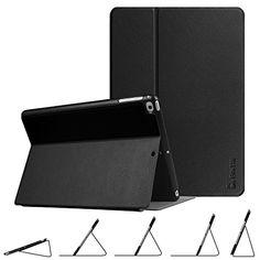 //iPad Air 2 ,Bling Brillant Cuir Porte-Carte Portefeuille Support /Étui Slim Flip Magn/étique Smart Housse avec R/éveil//Sommeil Auto,Noir Artfeel Glitter Coque pour iPad Air iPad 6 iPad 5