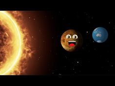 Planet Song for Kids/Solar System Song for Children/Venus Song for Kids Solar System Video, Solar System Song, Solar System For Kids, Solar System Planets, Preschool Songs, Preschool At Home, Kids Songs, Planets Activities, Kids