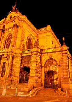 Teatro Municipal de São Paulo (entrada lateral)