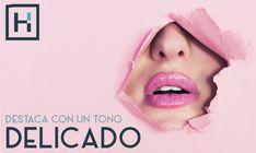 El rosa en sus diversos tonos creará en tus labios un toque femenino. #Tendencia #HairLoft Facebook Sign Up, Beauty, Hue, Girly, Lips, Create, Trends, Cosmetology