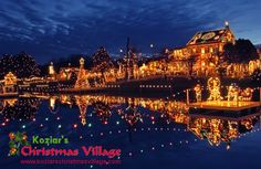 Kozier's Christmas Village, located at 782 Christmas Village Road in Bernville. For more information, visit http://www.koziarschristmasvillage.com/
