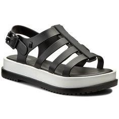 Sandały MELISSA - Melissa Flox III Ad 31706 Black/White 51708