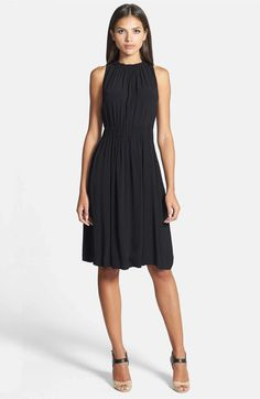 Main Image - kate spade new york tie back crepe dress
