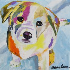 Painting Of Dog - Best Image Wallpaper