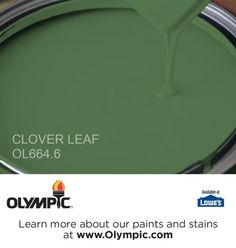 CLOVER LEAF OL664.6 is a part of the greens collection by Olympic® Paint.