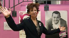 Véronique Colucci, l'ex-femme de Coluche - Les Restos du Cœur. RIP.