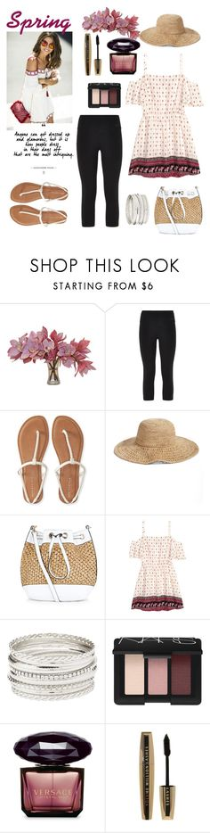 """Untitled #302"" by confusioninme ❤ liked on Polyvore featuring NIKE, Aéropostale, Nordstrom, New Look, H&M, Charlotte Russe, NARS Cosmetics, Versace, L'Oréal Paris and Spring"