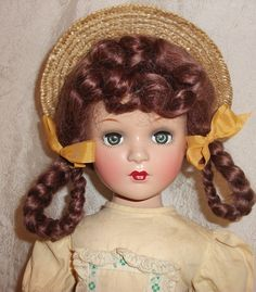 "21"" Composition Margaret Obrien Doll Madame Alexander 1940's Era Beauty   eBay"