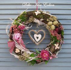 Spring Door Wreaths, Easter Wreaths, Summer Wreath, Christmas Advent Wreath, Christmas Decorations, Nature Decor, Mobiles, Floral Wreath, Grapevine Wreath