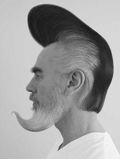 Pompabeard psychobilly beard