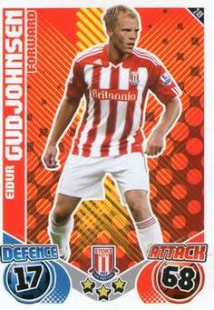 2010-11 Topps Premier League Match Attax #249 Eidur Gudjohnsen Front