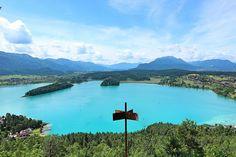 Aussicht von der Taborhöhe in Österreich Seen, Mountains, Nature, Travel, Sport, Mountain Landscape, Holiday Destinations, Road Trip Destinations, Travel Advice