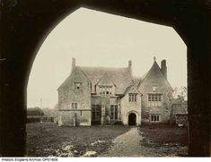 OP01804. Northborough Manor House, Northborough, City Of Peterborough. Photographer: Alice Marcon. For more information or to search our collections click on image.