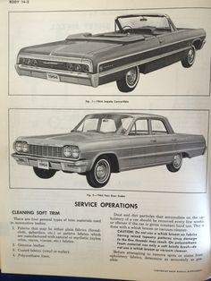 64 Chevrolet full size shop manual