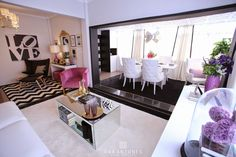 Home-Styling soleira dividindo espaço