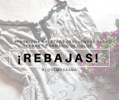 WE (L) SALES!!!! ¡No te pierdas las rebajas de nuestra tienda online! #massana #pijamas #massanahomewear #summersales #fashion #massanahomewear #men #women #kids #outwear #fashion