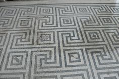 Mosaic Floor, Herculaneum by antiogar, via Flickr