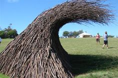 abstract sculpture wave - Google Search