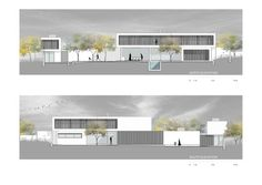 Gallery of House Jonker / Thomas Gouws Architects – 33 – House Design Minimalist Architecture, Islamic Architecture, Facade Architecture, Presentation Board Design, Planer Layout, Architectural Section, Architectural Styles, Architect House, Architecture Portfolio