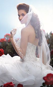 Veils   Alfred Angelo Bridal Collection   Disney's Fairy Tale Weddings & Honeymoons